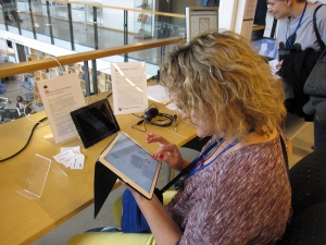 Reading and experiencing Secret Language at ELO 2015